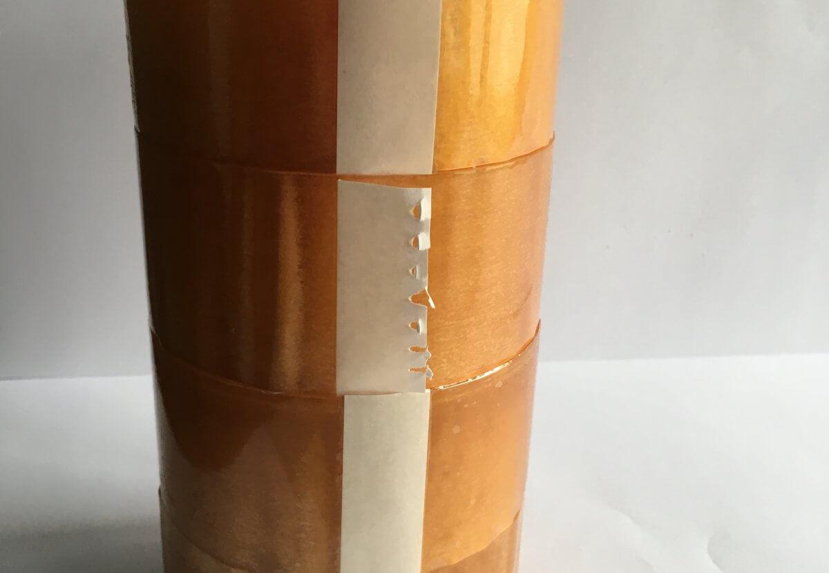 Precinto PP de caucho transparente en DecoStands