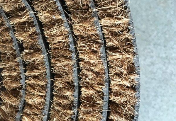 Felpudo coco natural en rollo o al corte en DecoStands