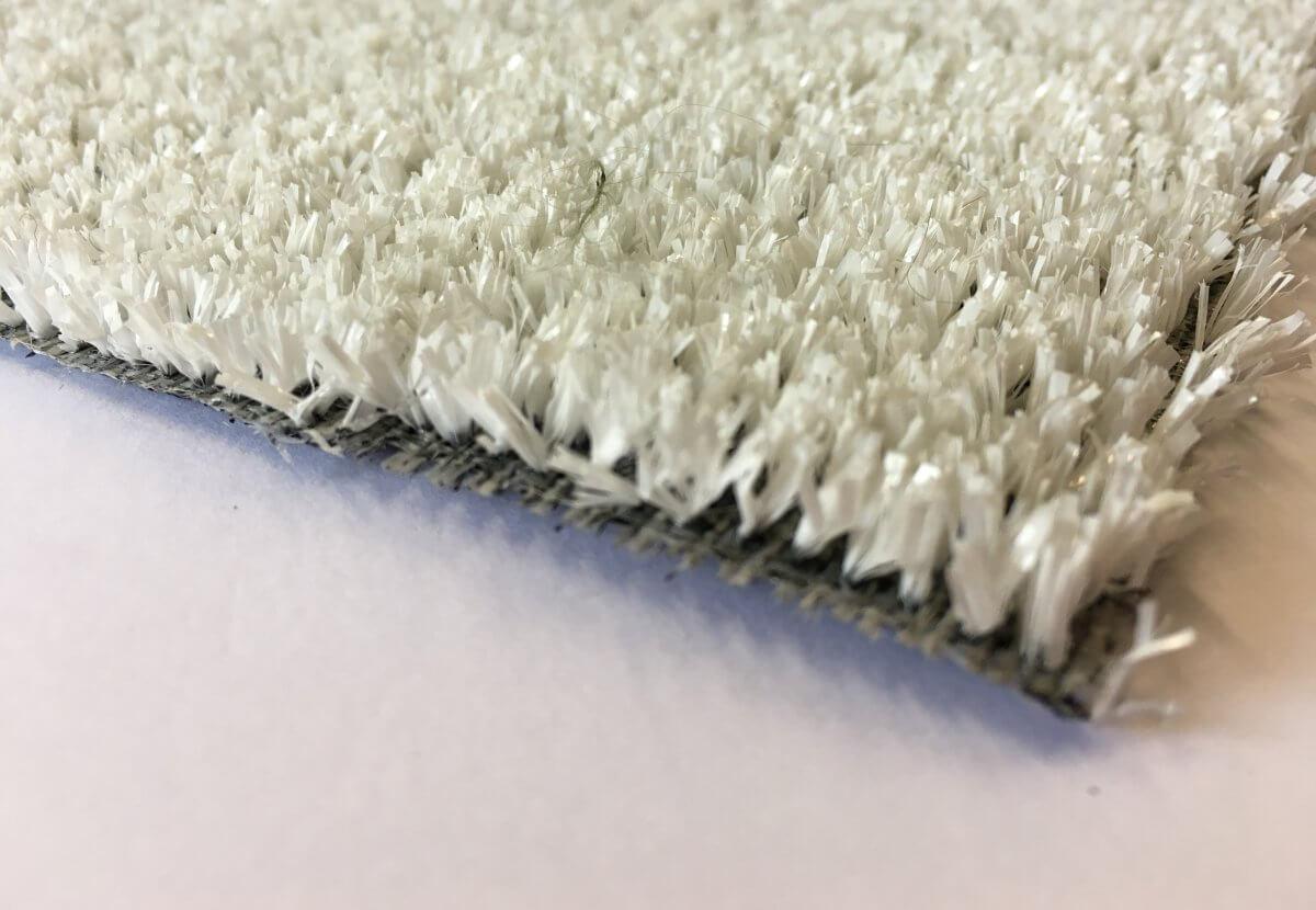 Césped Artificial Eco Blanco en DecoStands