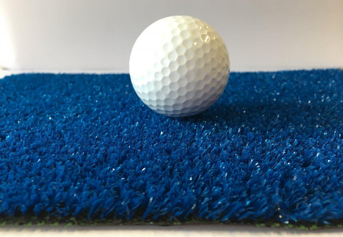 Césped Artificial Eco Azul en DecoStands
