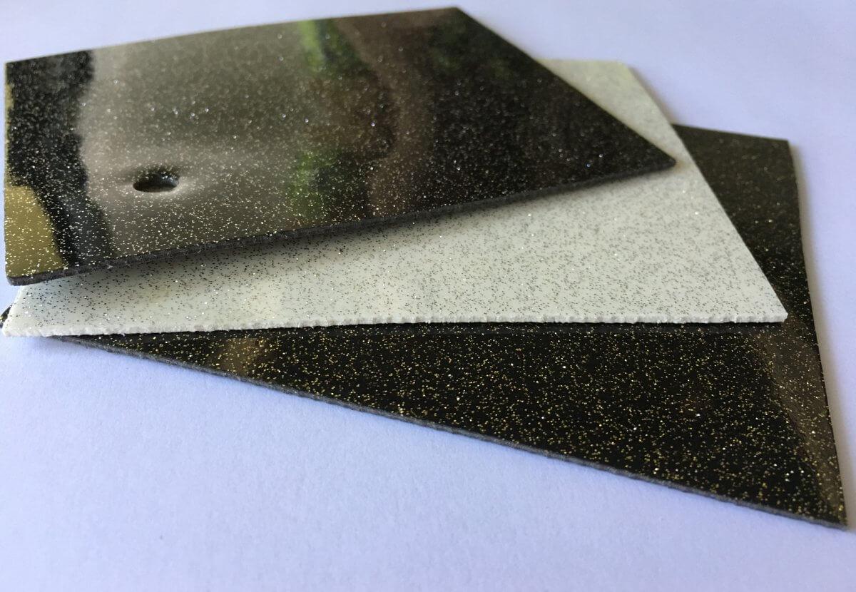 Suelo PVC con Purpurina colores