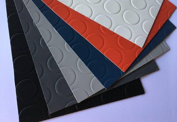 Suelo PVC Pastillas colores en DecoStands