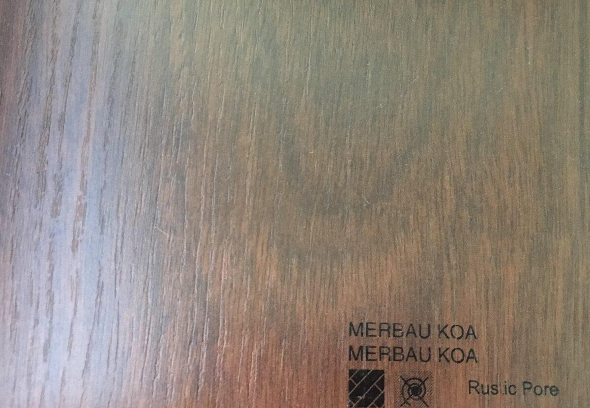Parquet AC-5 Merbau Koa en DecoStands