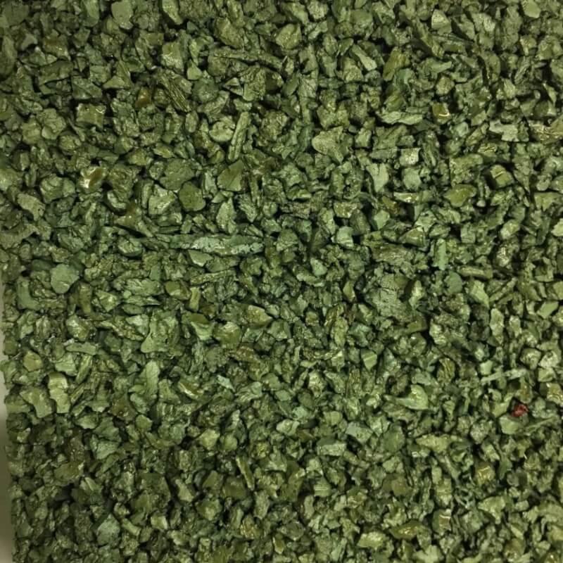 Loseta de Caucho granulado Verde en Decostands