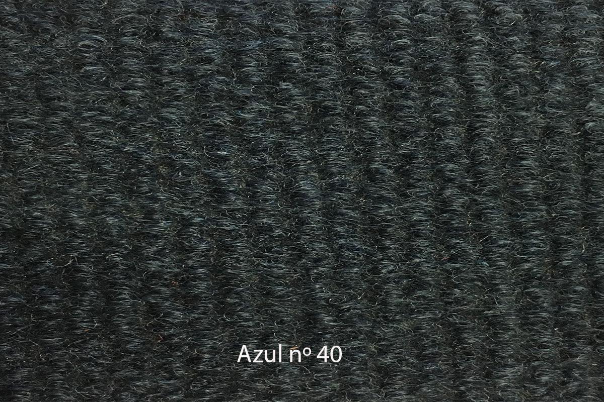 Moqueta Amanda azul oscuro 40 en DecoStands