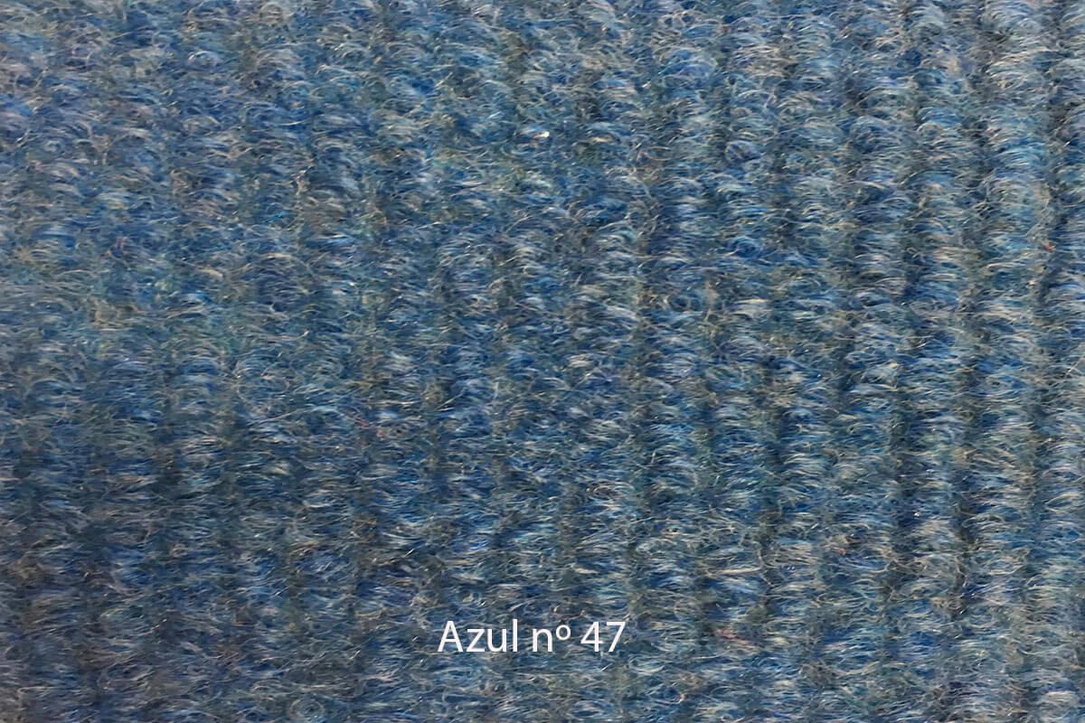 Moqueta Amanda color azul 47 en DecoStands