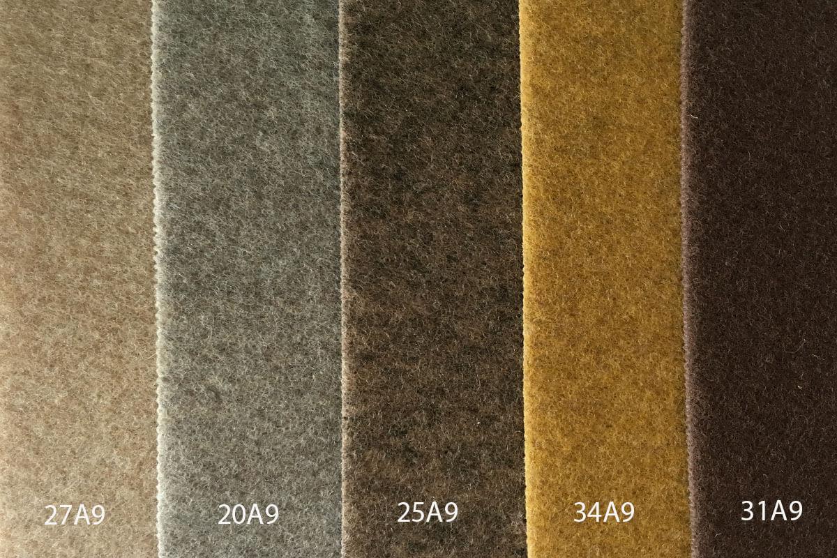Moqueta Ferial en colores marrones en DecoStands