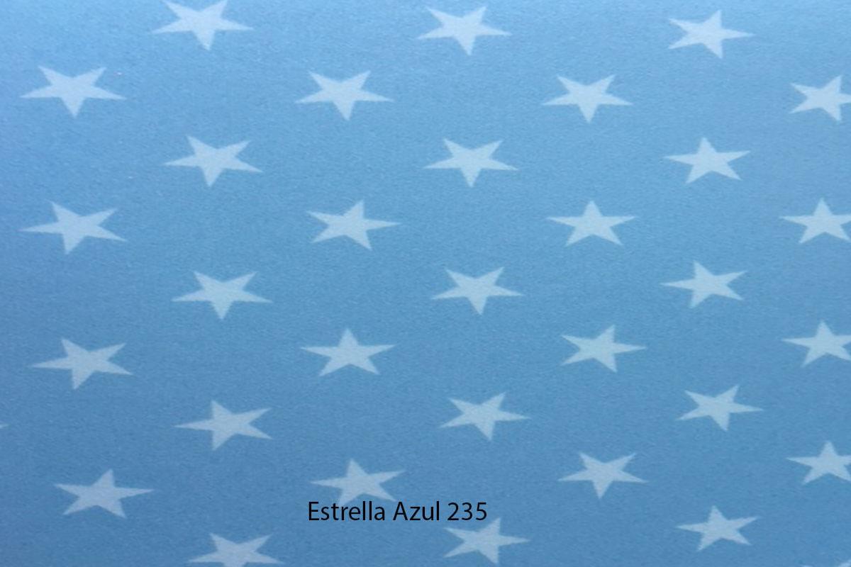 Suelo Vinílico Infantil Play Design Estrella Azul 235 en DecoStands