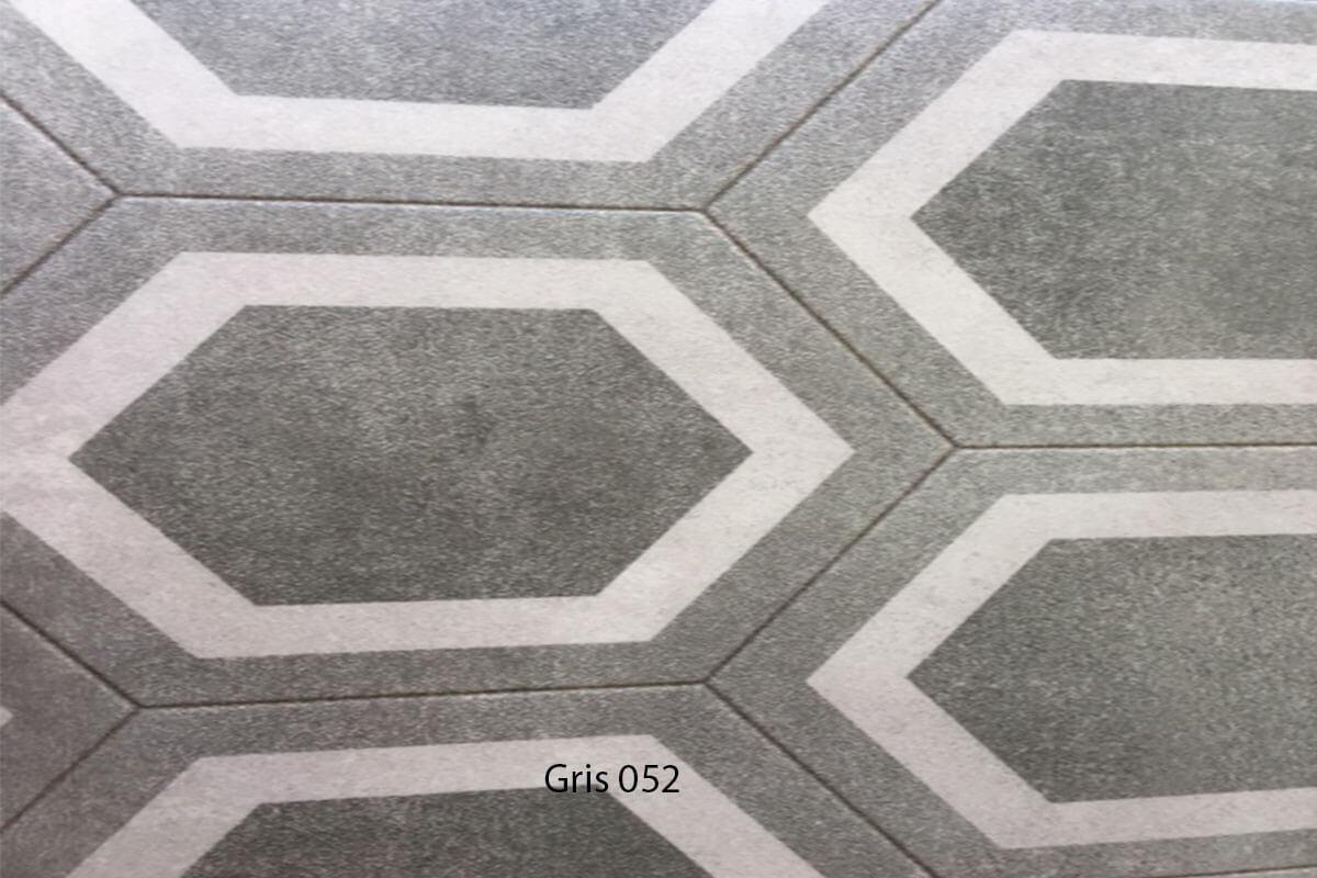 Suelo Vinílico Mosaico Gris 052 en DecoStands