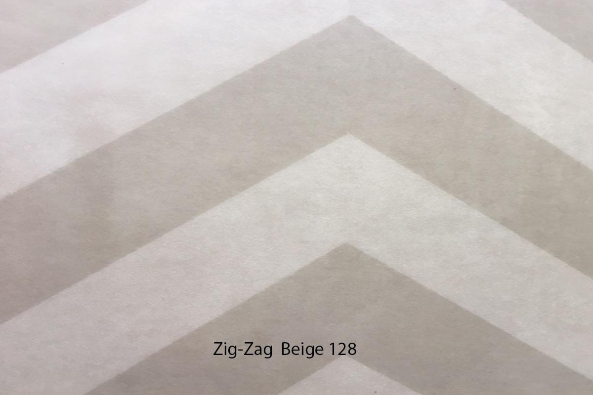 Suelo Vinílico Mosaico Zig Zag Beige 128 en DecoStands