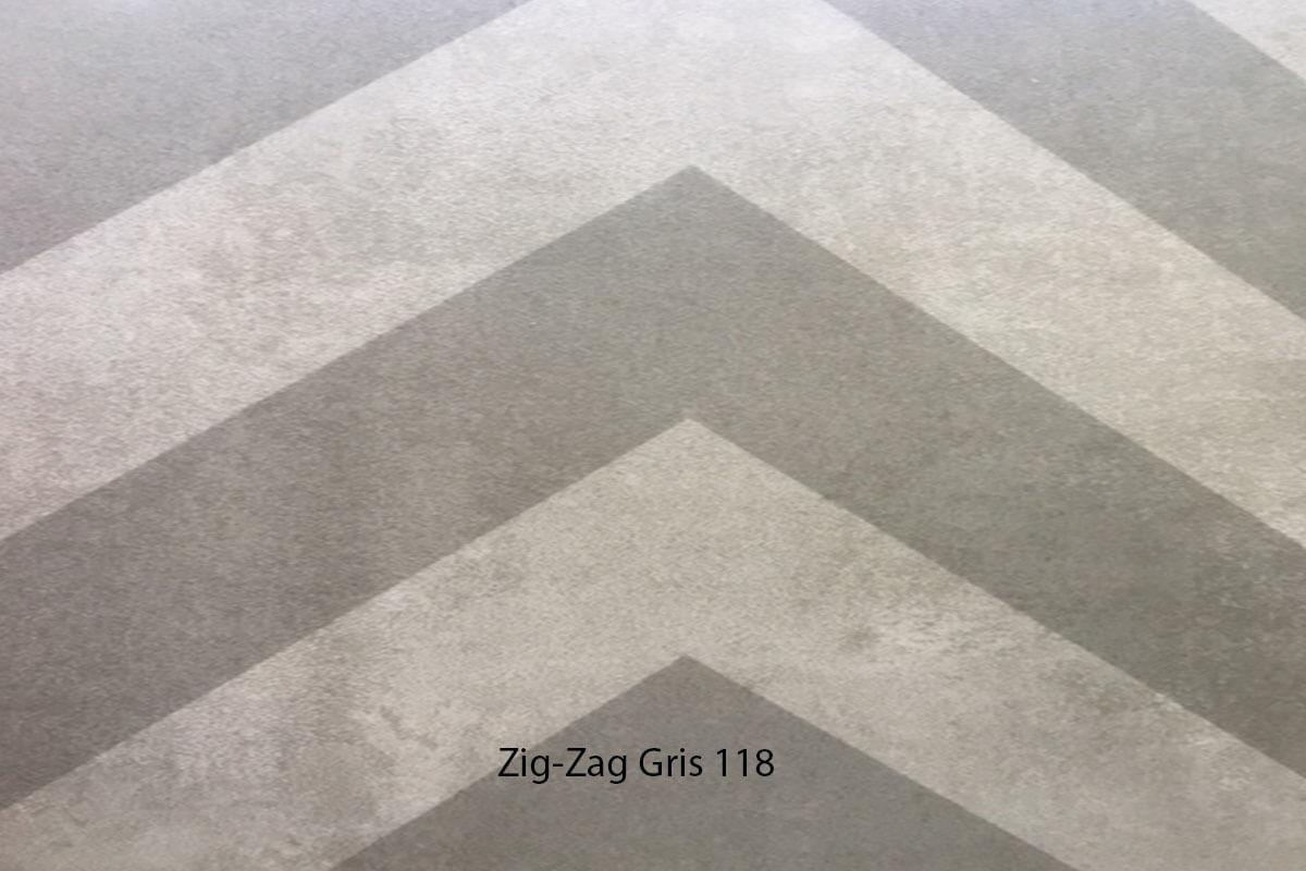 Suelo Vinílico Mosaico Zig ZAg Marrón 127 en DecoStands