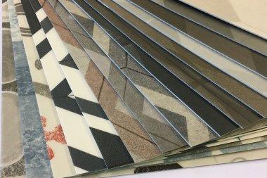 Suelo Vinílico Mosaico perfil en DecoStands