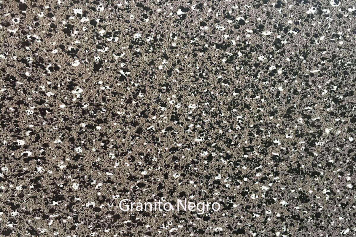 Suelo de PVC efímero Granito negro en DecoStands