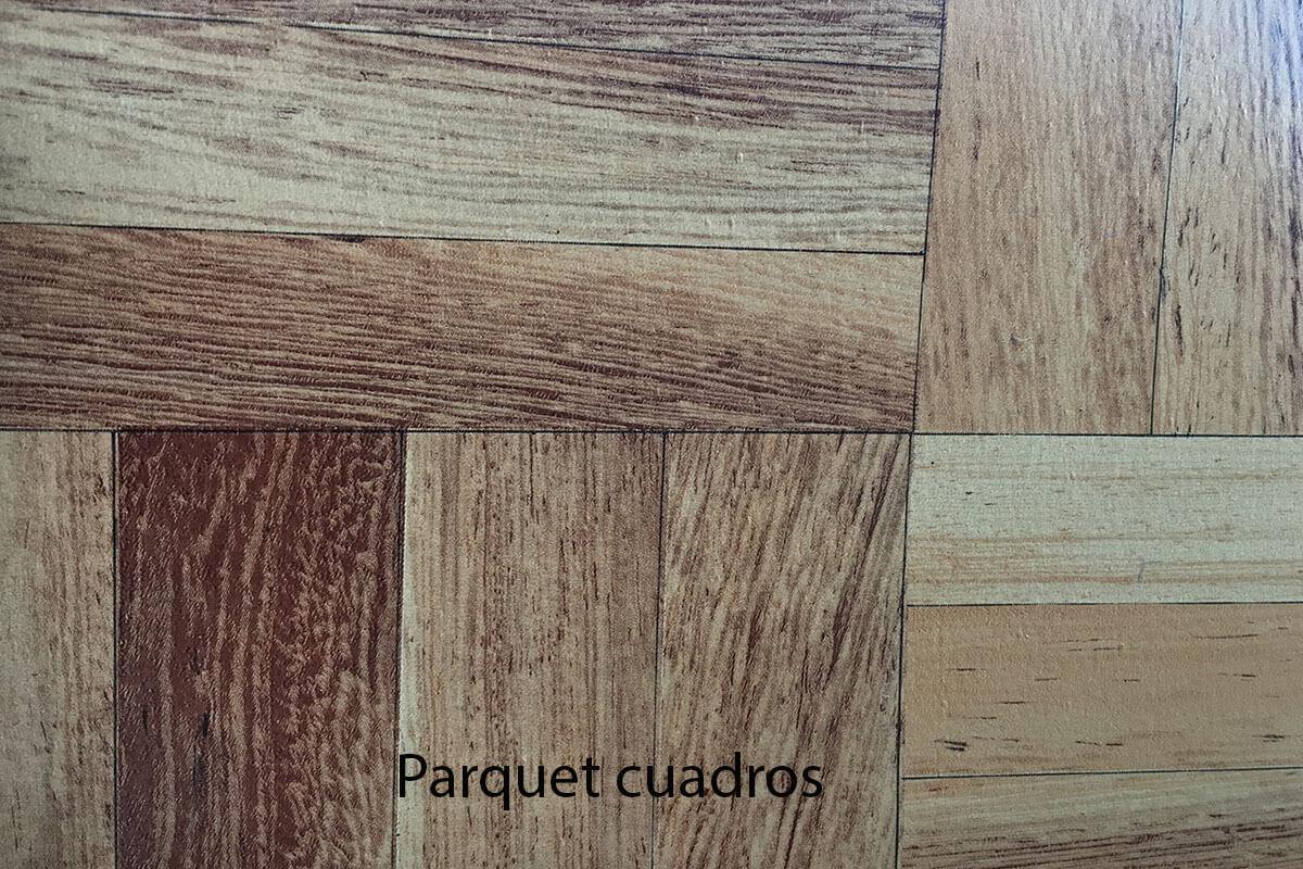Suelo de PVC efímero parquet cuadros en DecoStands