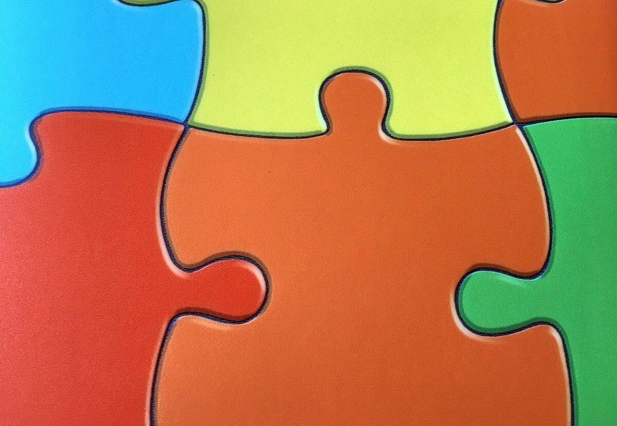 Suelo Vinílico de PVC Puzzle