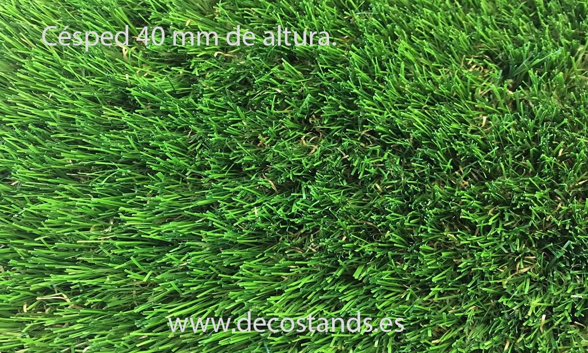 Por qué elegir césped artificial y no césped natural en DecoStands