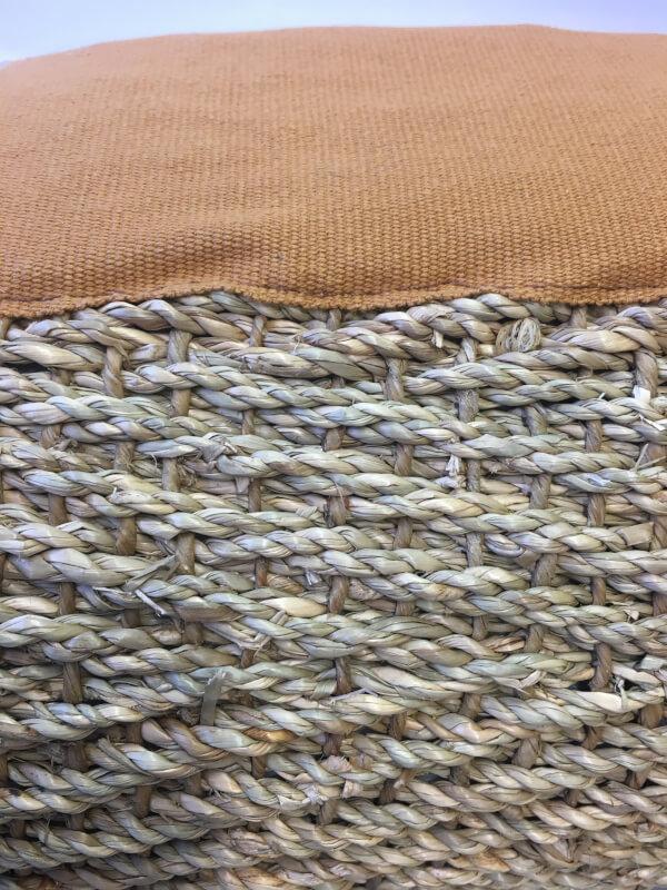 Cenefa de algodón en alfombra de algas en DecoStands