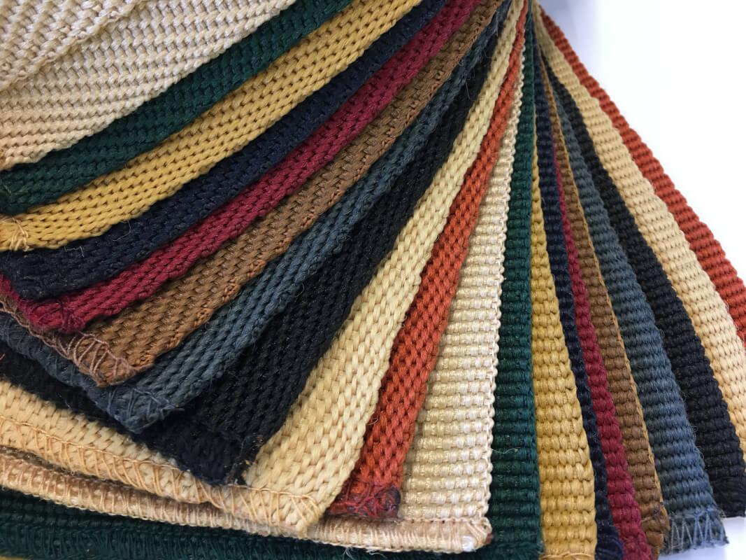 Cenefa de Microfibra para alfombras en DecoStands